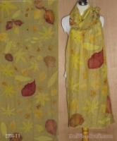 Pashmina Ecoprint Cotton-Silk Tegeran 11