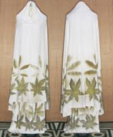 Mukena Ecoprint Broken White 51