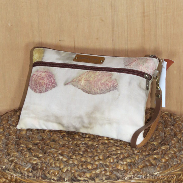 Pouch Bag Ecoprint Unik 12